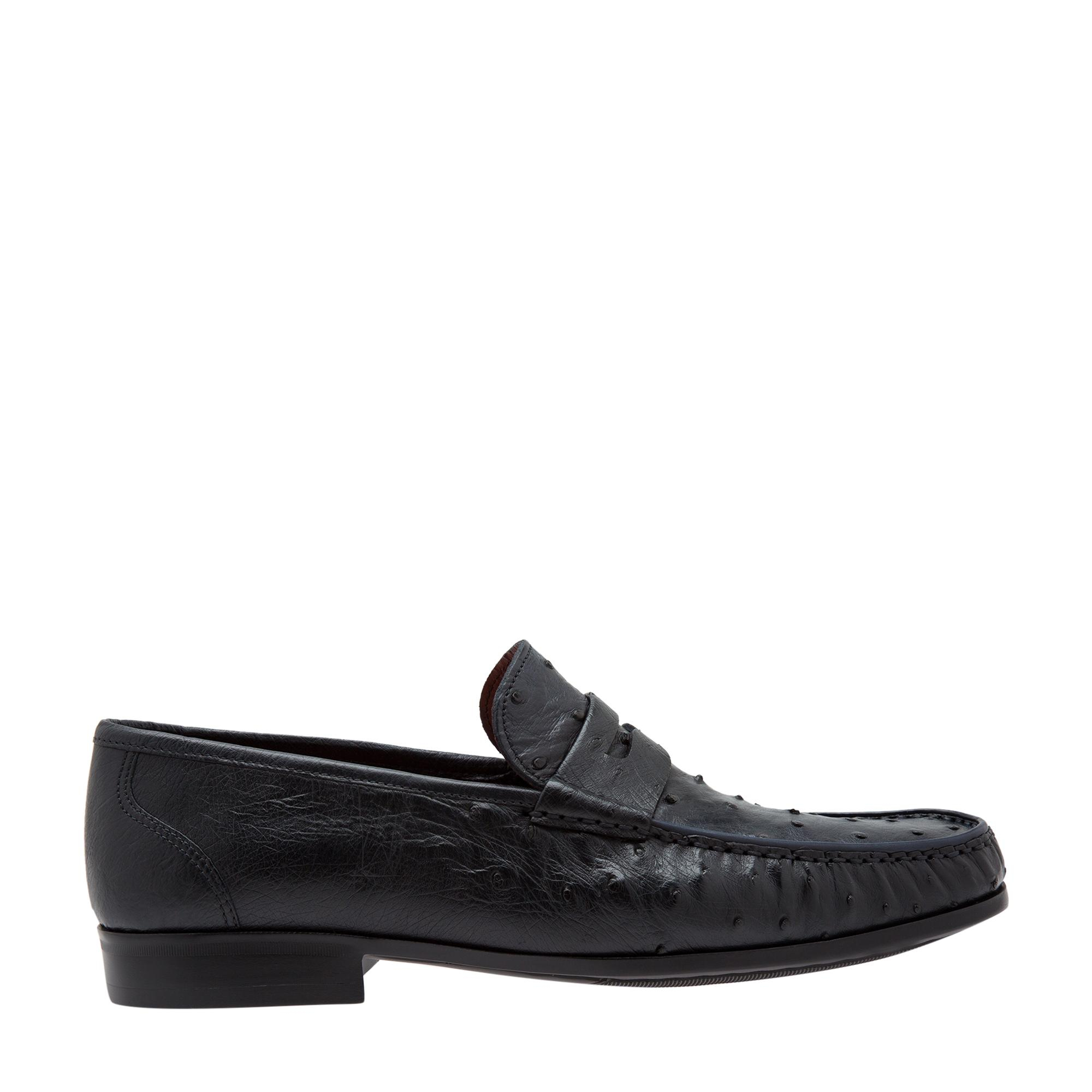 Ostrich loafers