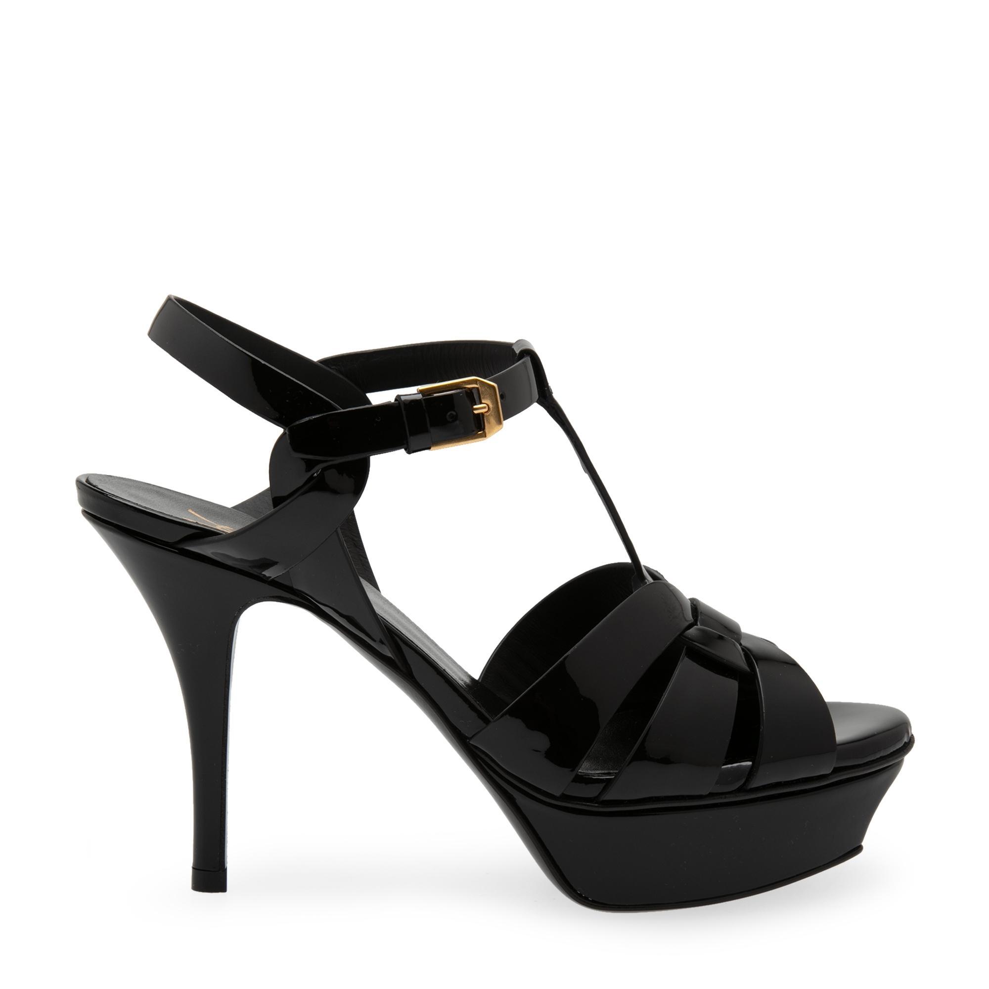 Tribute platform sandals