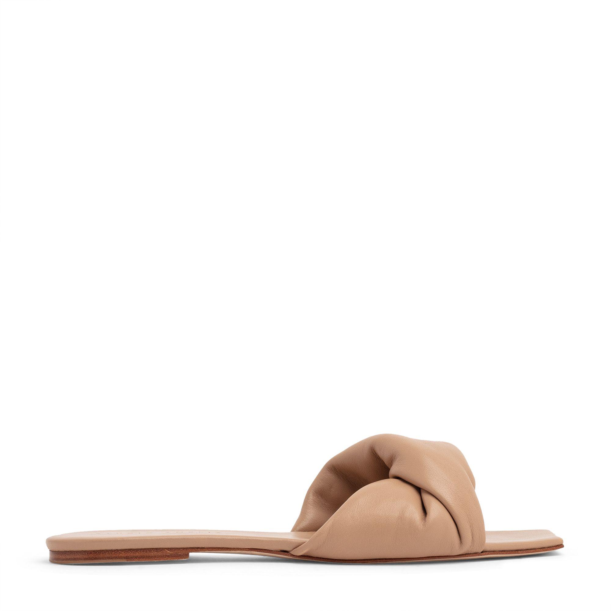 Twist Front 10 flat sandals