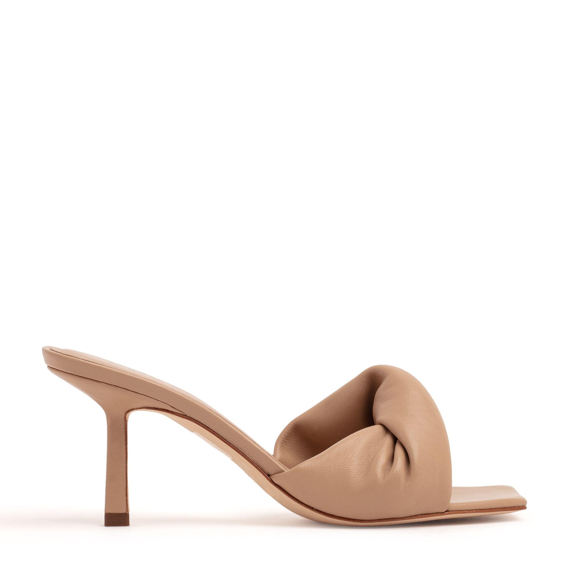 Twist Front 75 heel sandals