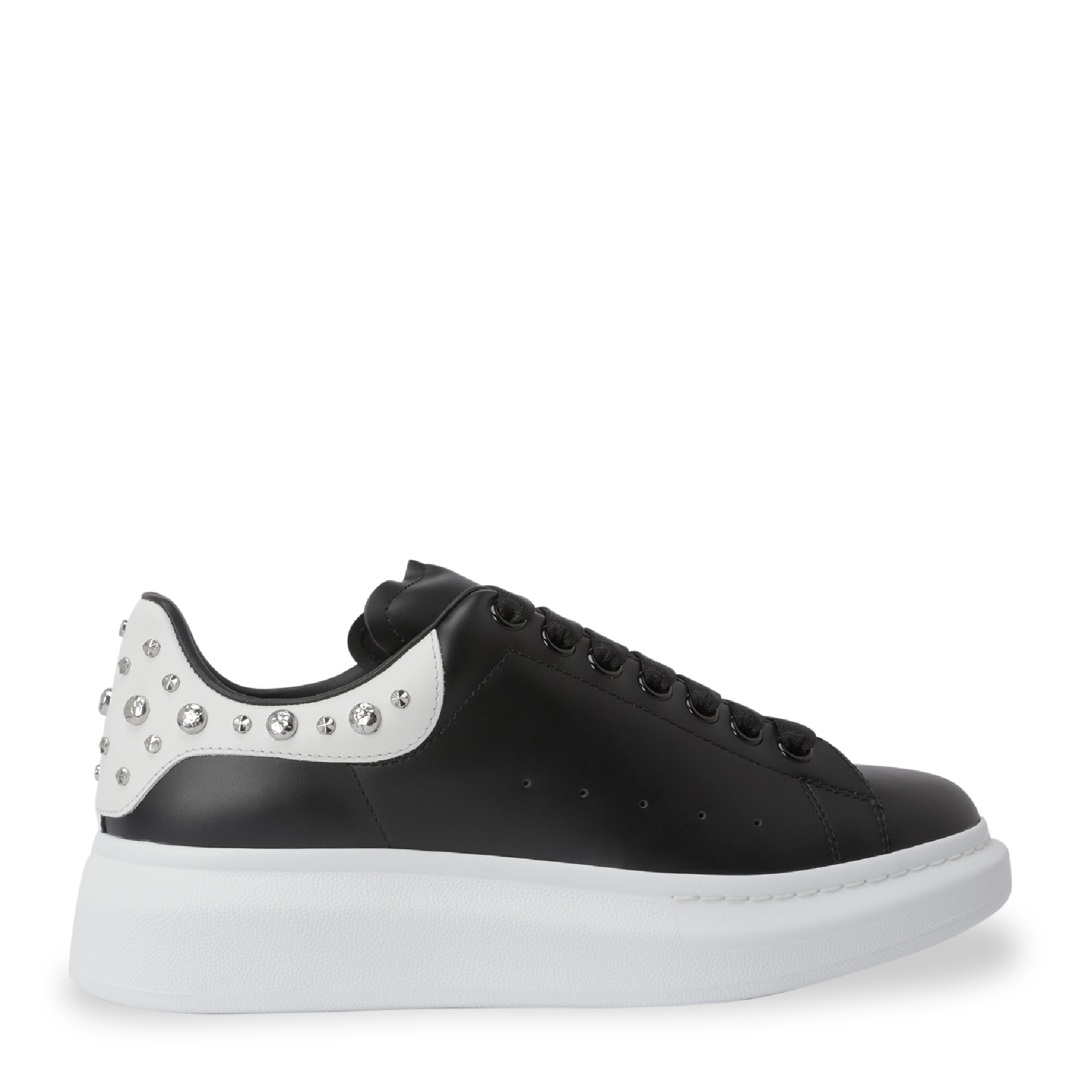 Oversized studded sneakers