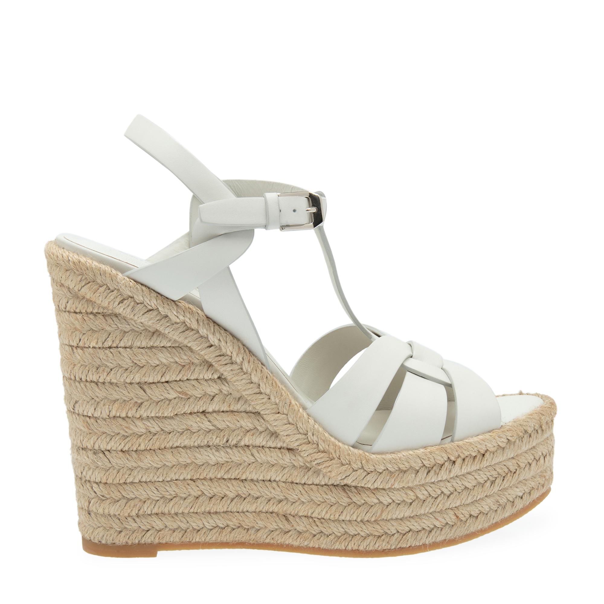 Tribute wedge sandals