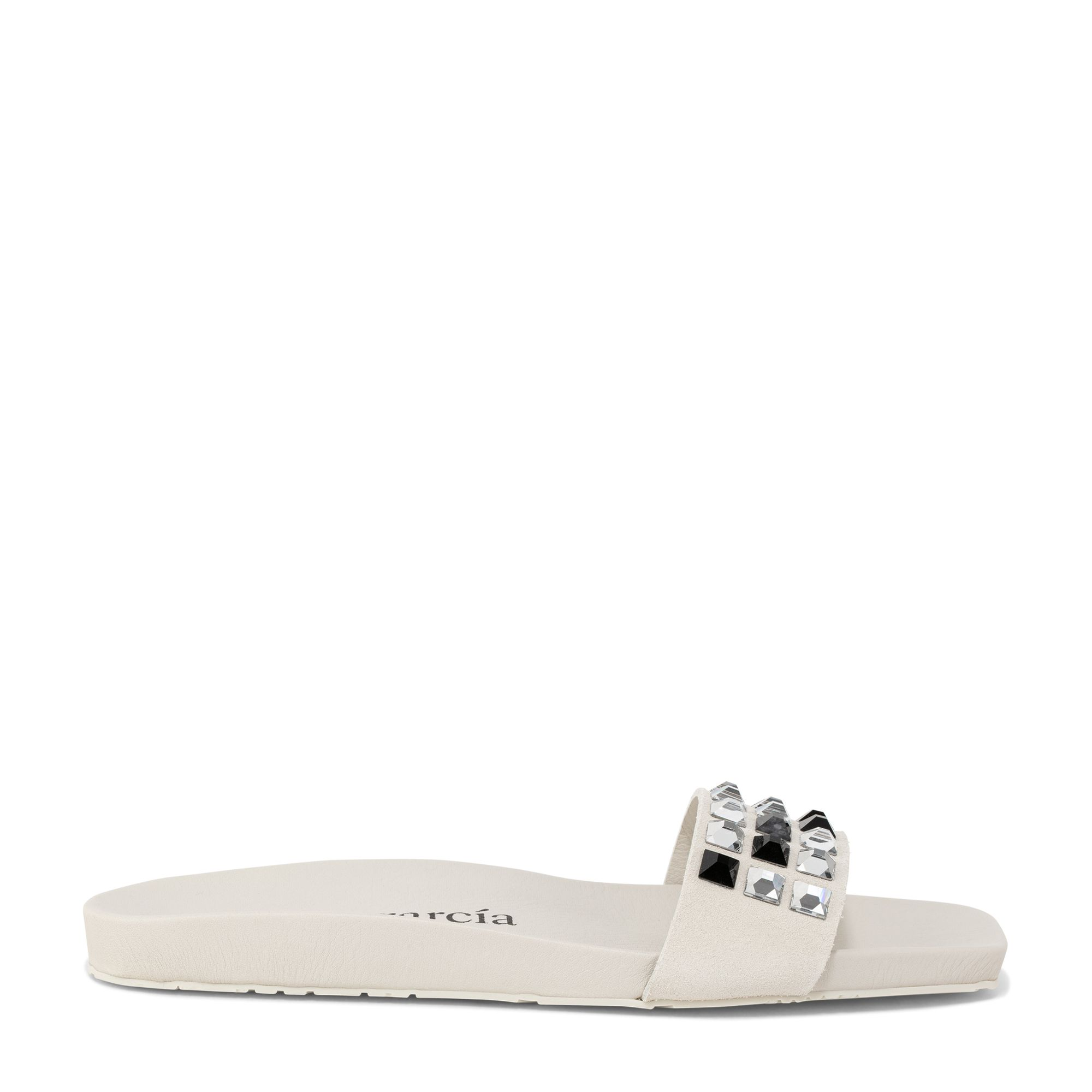 Claid slide sandals