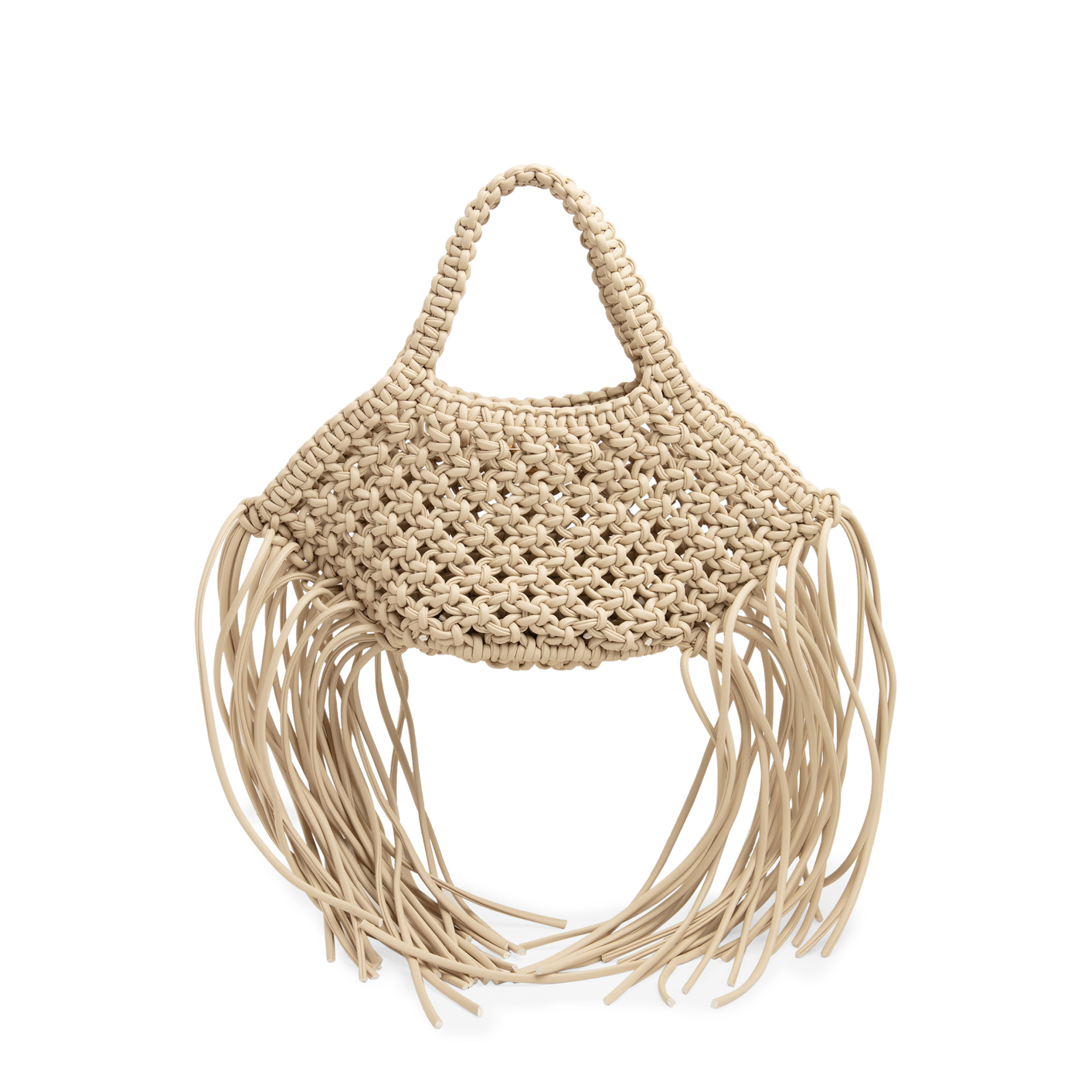 Mini woven Basket bag