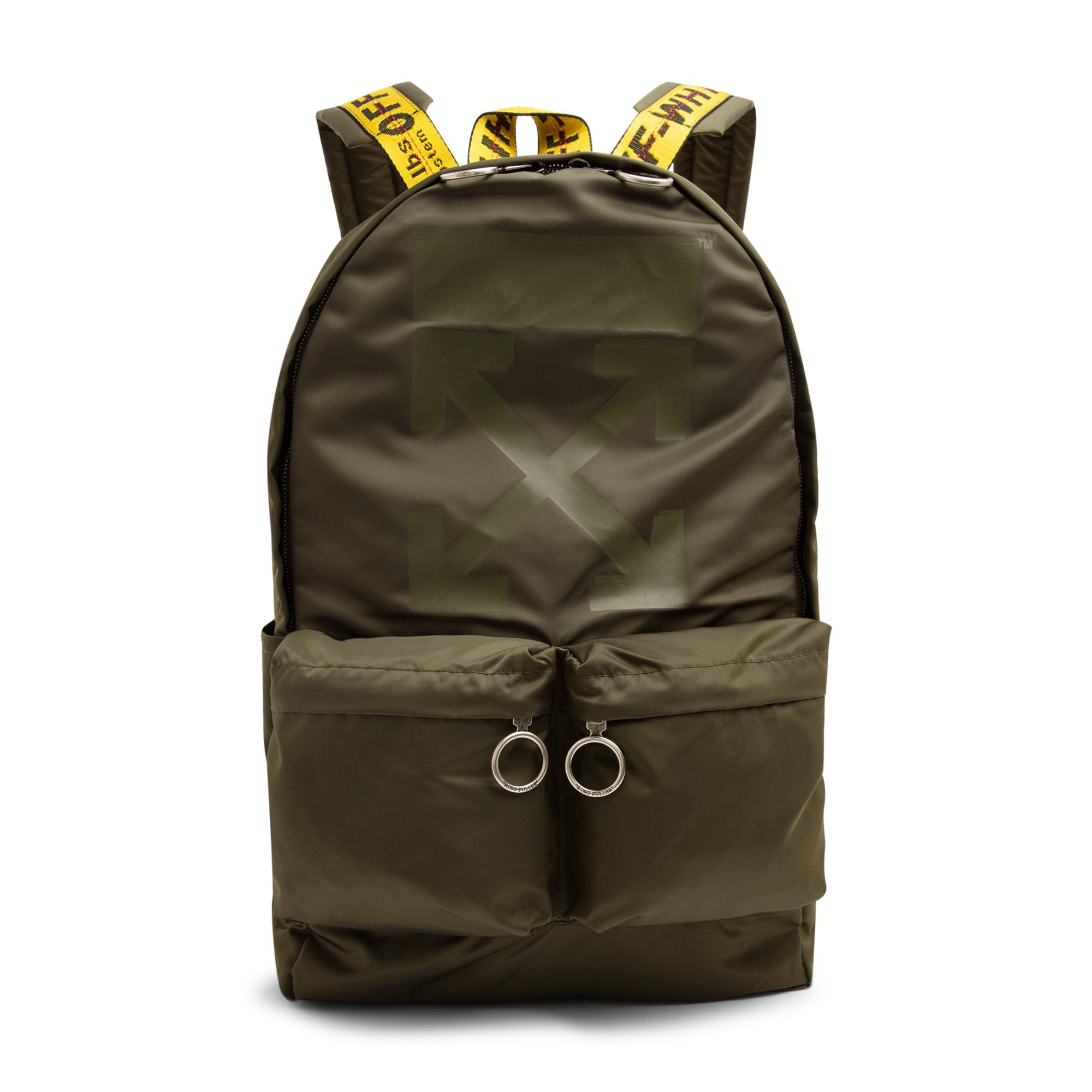 Rubber Arrow backpack