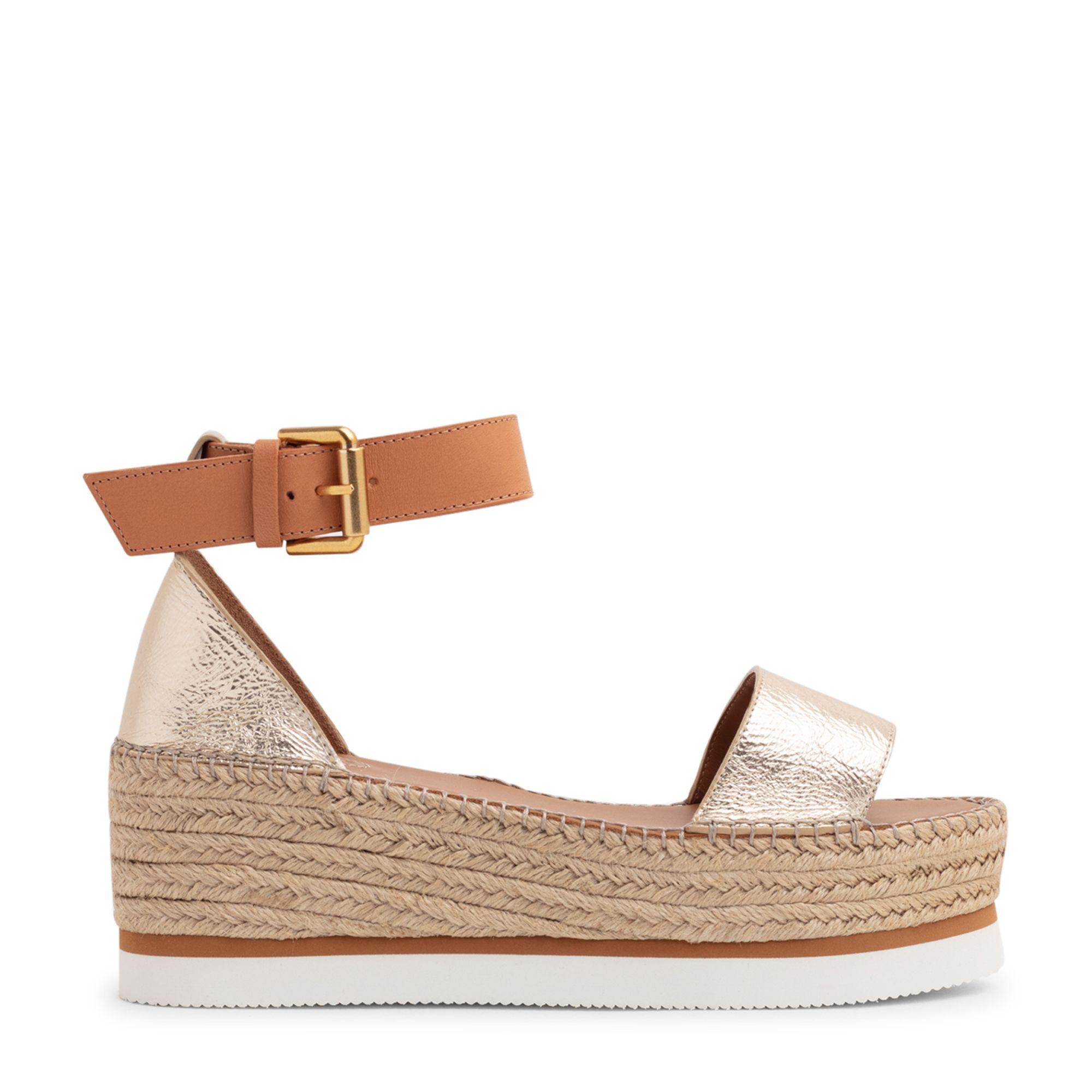 Glyn platform sandals