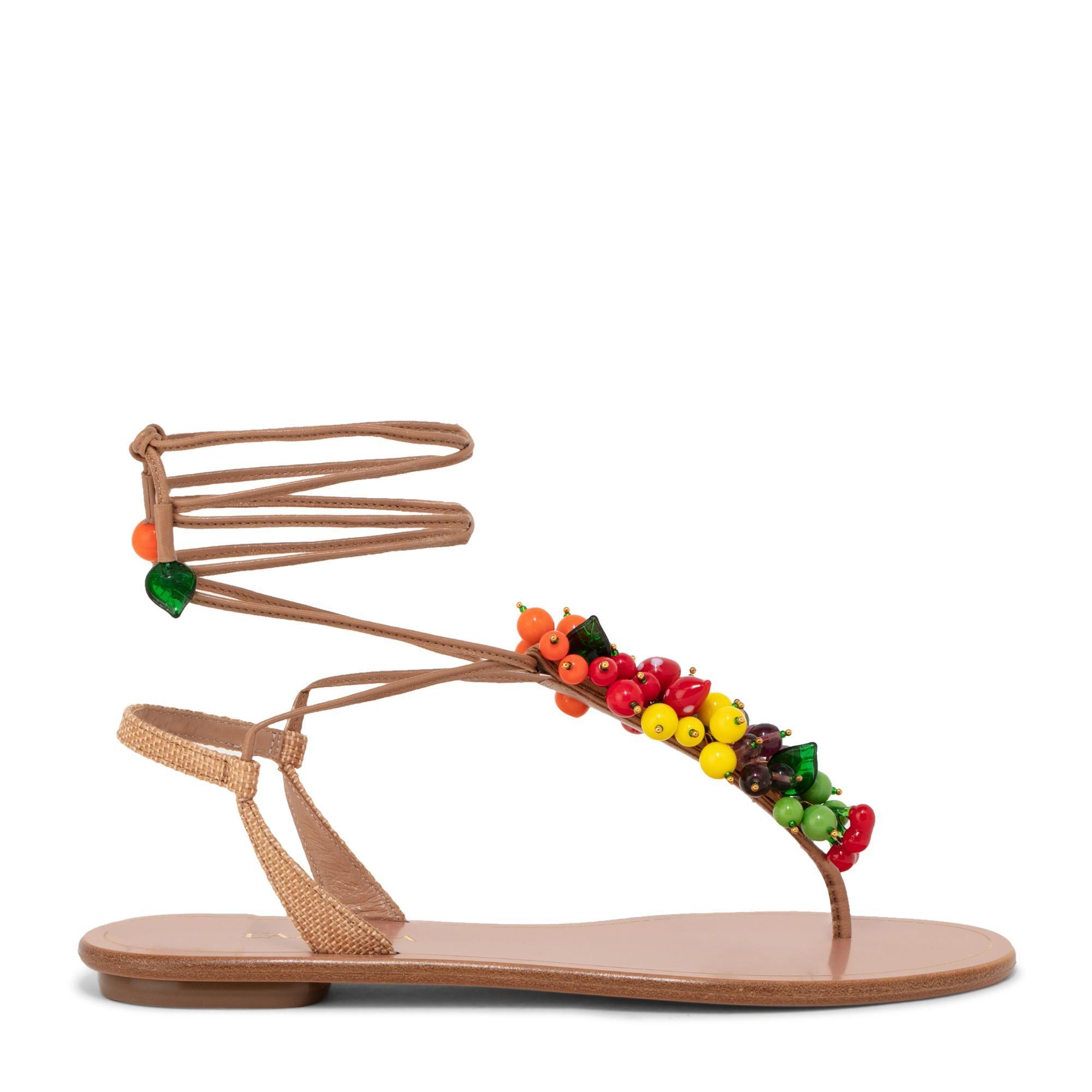 Tutti Frutti flat sandals