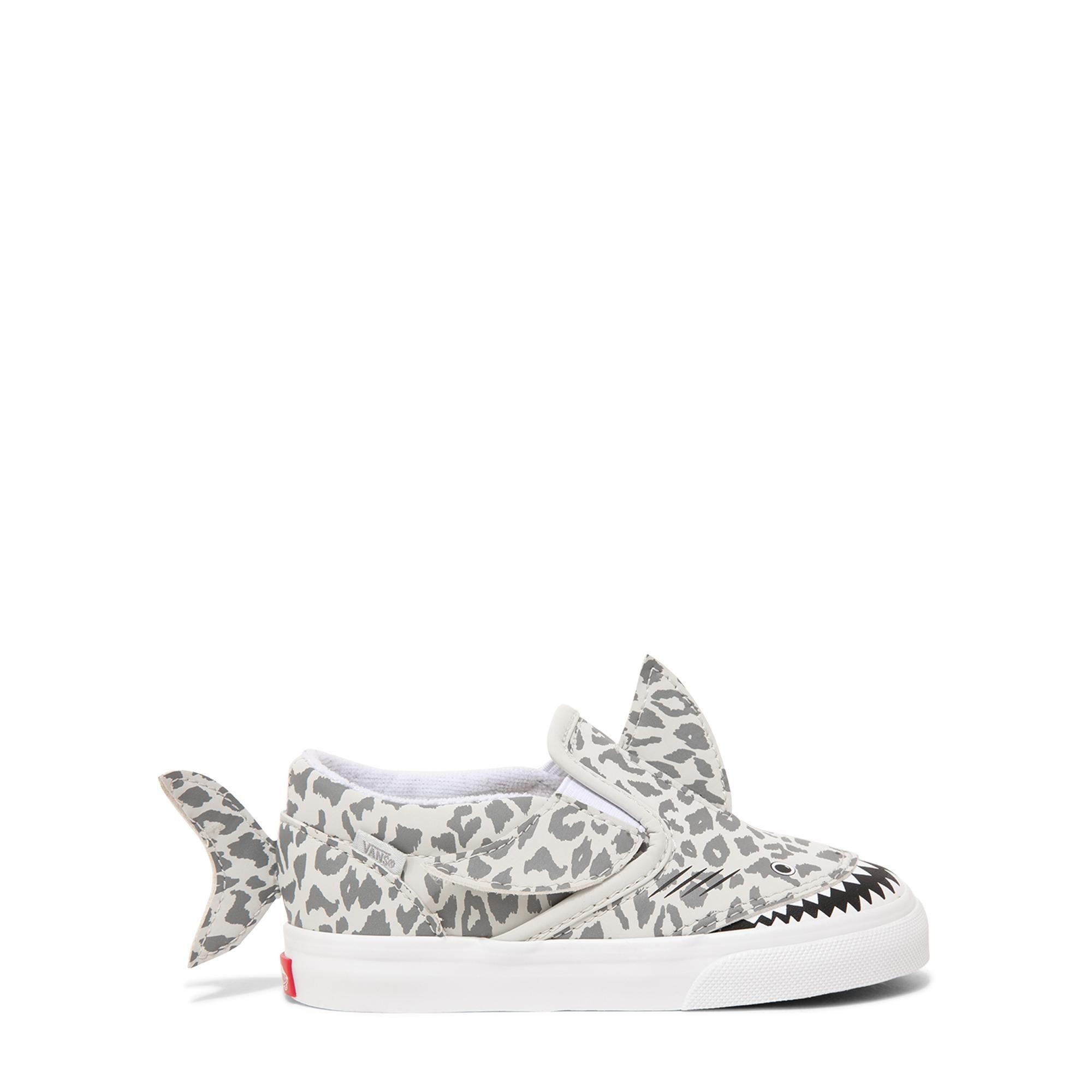 Shark slip-on sneakers