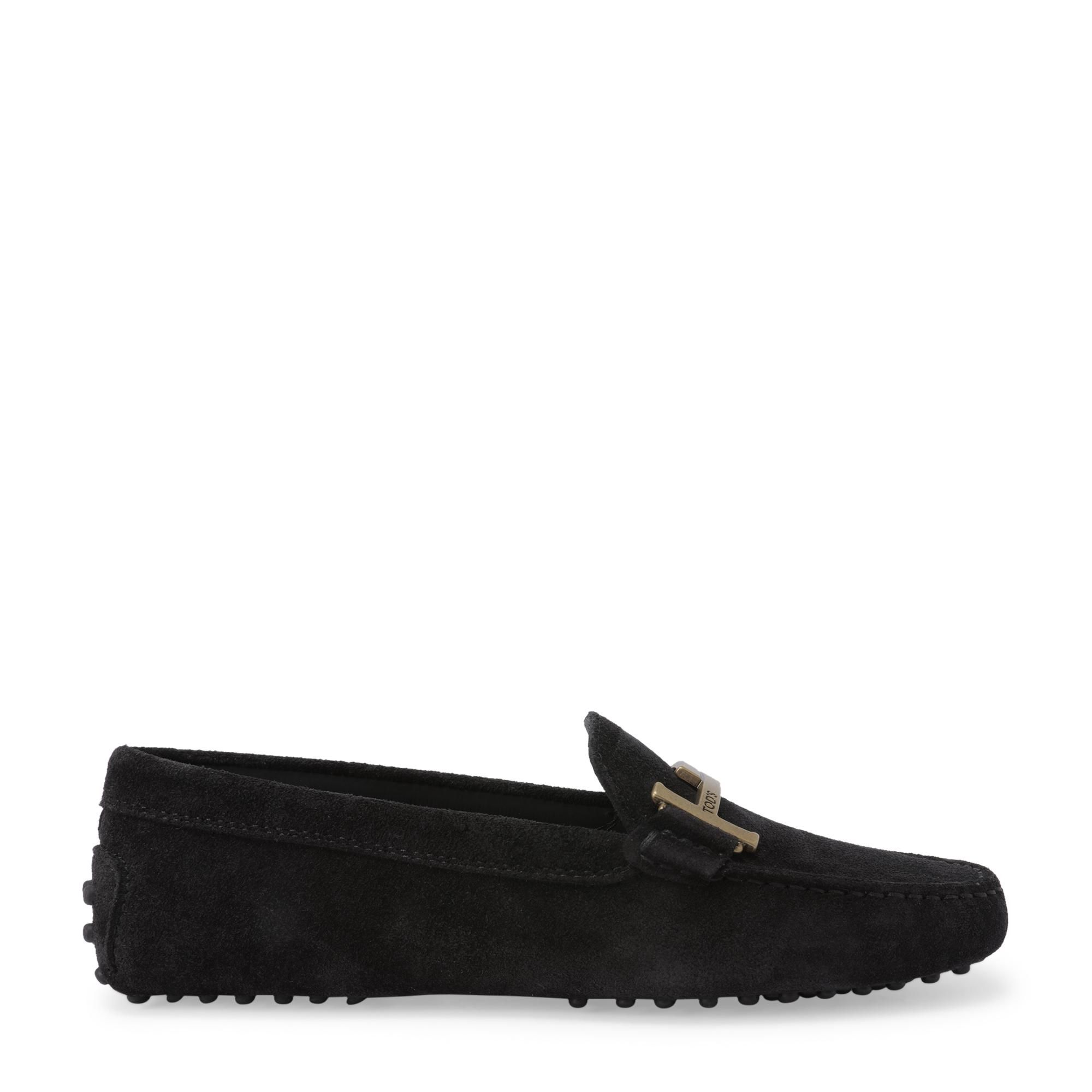Gommino T-bar loafers